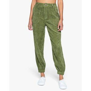 KENDALL + KYLIE Smocked Waistband Patch Pant
